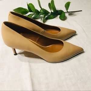 Givenchy Nude Kitten Pointed Toe Heel Pump 38